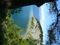 Az eldugott tengerpart Strunjan