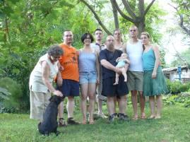 Családi csoportkép