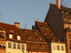 Strasbourg háztetők