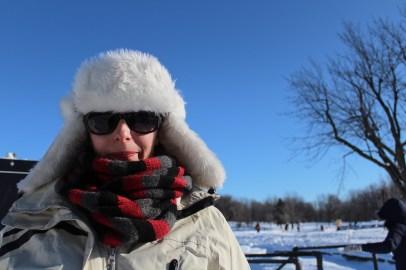Téli portré / portrait d'hiver