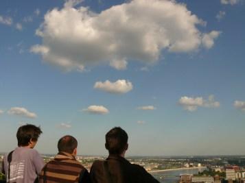 Turisták a Citadellán