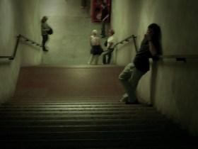 Margit híd - HÉV-re várók