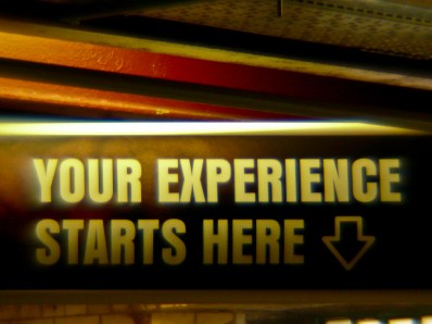 Your experience starts here