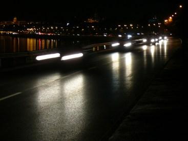 Éjszaka a Duna parton