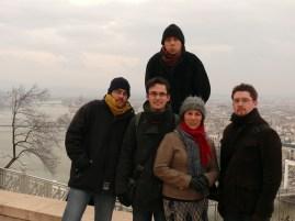Átfagyott csoport kép