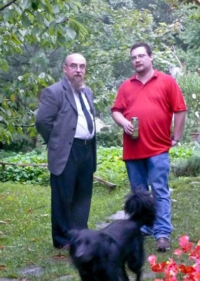 Apa és fia (és Bogáncs :)