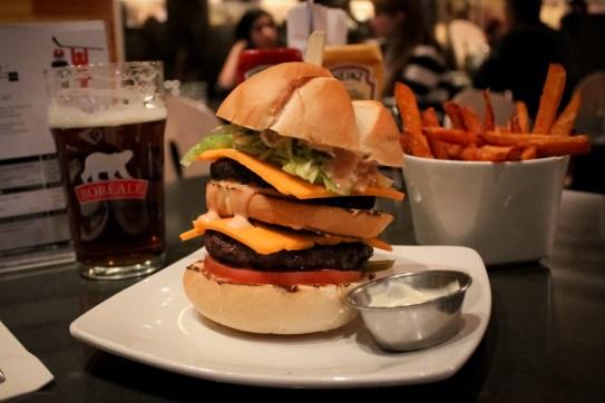 Dupla burger / Hambourgois double
