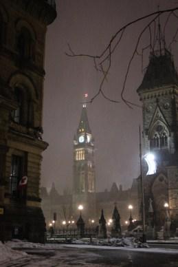 Ottawa este / nuit