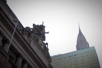 Grand Central Terminal és/et Chrisler building
