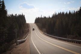 Hegyi út Kanada, Quebec - Route de la Montagne Quebec, Canada