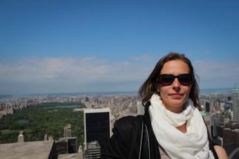 Central Park a Rockefeller Center tetejéről - Central Park de la Rockefeller center