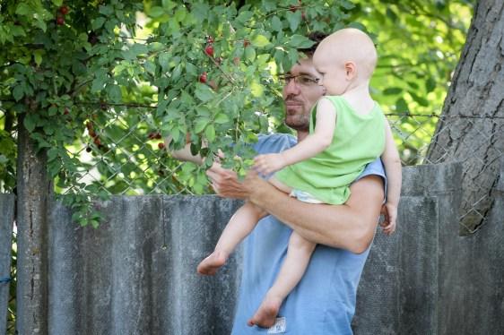 Bence gyümölcsöt szed - En prenant des fruits