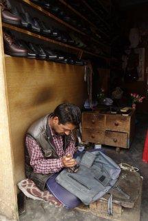 Réparation de sacoches (rivet)