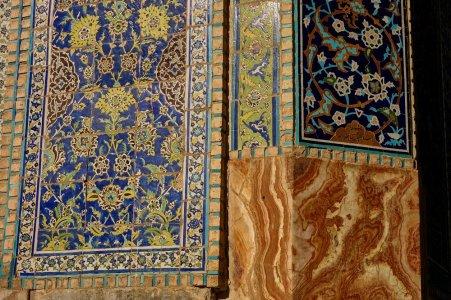 Mosaiques et marbre