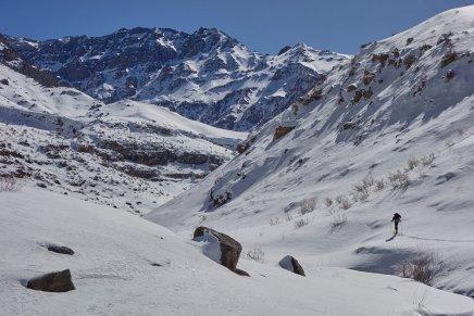 Vallon sous le sommet du Nevel