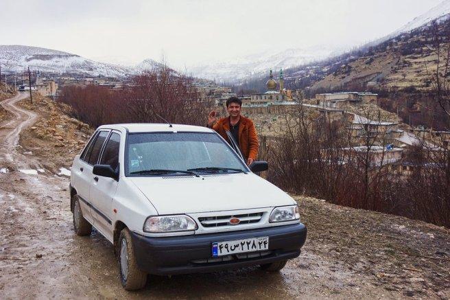 Notre chauffeur retourne à Sisakht