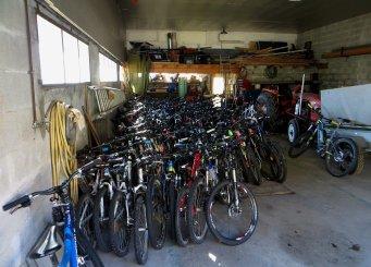Garage à vélo à Vassieux : le casse du siècle ?!!!!