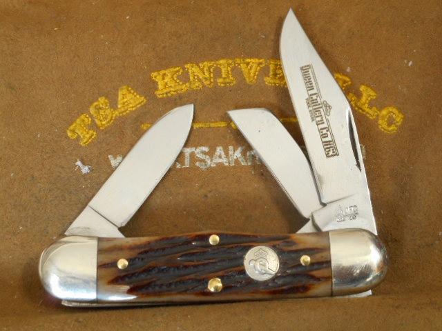 Queen Cutlery Stag Bone Rail Splitter