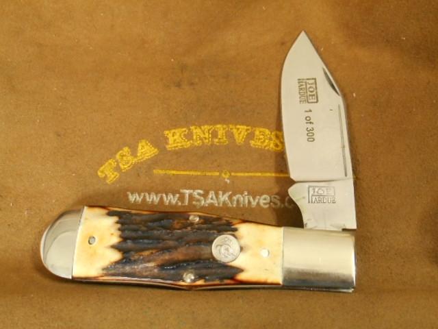 Joe Pardue / Queen Cutlery Reverse Coffin