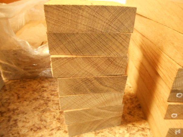 Oak Handle Material