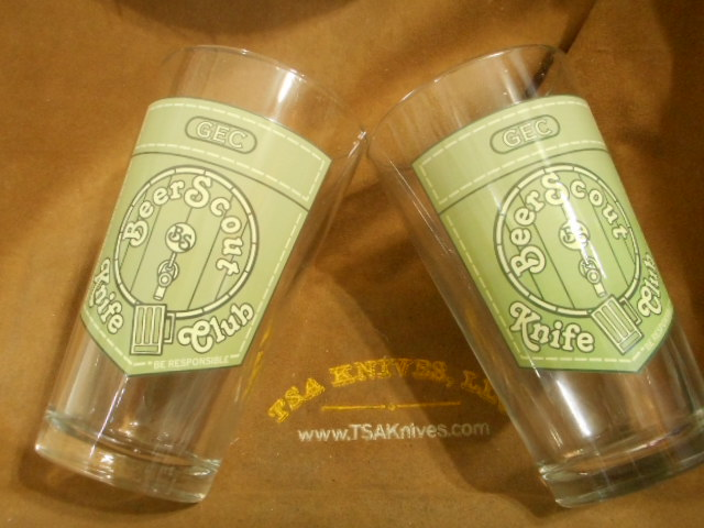 Beer Scout Glasses ~ WWP Fund Raiser