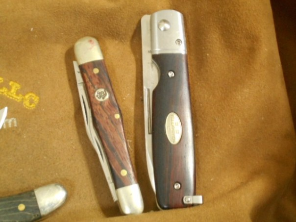Queen #48 Whittler and Fallkniven Gentleman's Knife