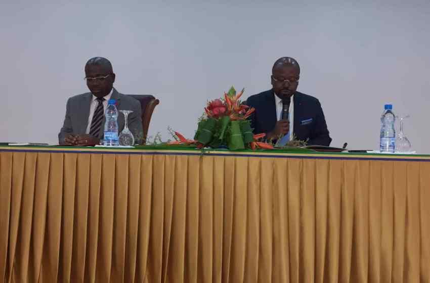 Les Ogivins font un briefing sur la tournée du DCPR dans leur province