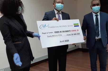 La fondation Seydou Kane fait un don de 30 millions de francs