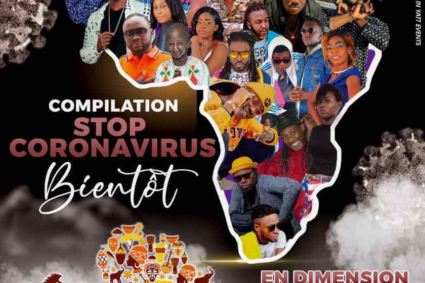 Stop Coronavirus: les artistes africains en voie de sensibilisation