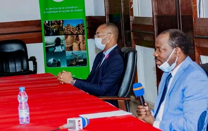 """Hugues Mbadinga Madiya: """"L'activité commerciale doit garantir la sécurité sanitaire"""""""