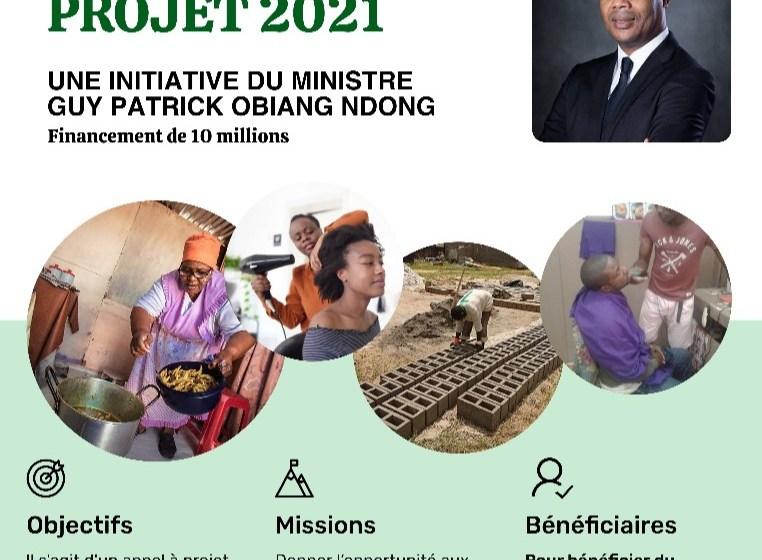 Œuvre de bienfaisance : Guy Patrick Obiang Ndong offre 10.000.000 FCFA au département du Woleu pour la promotion des AGR