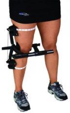 Image of DJO custom brace measuring device