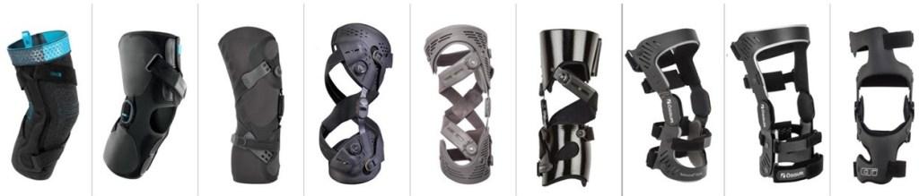 Custom brace Regina. A image showing OA brace progression.