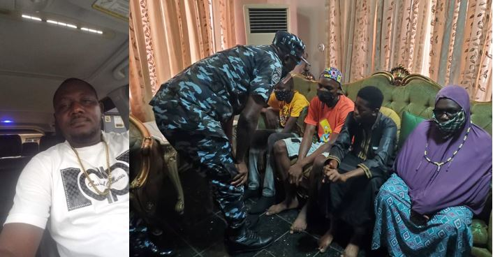 Lagos police commissioner visits family of Jelili Bakare shot dead by police  officer at a lounge in Lagos (photos)
