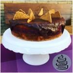 Half-Naked Spekulatius-Torte mit Kirsch-Vanille-Glühweinfüllung