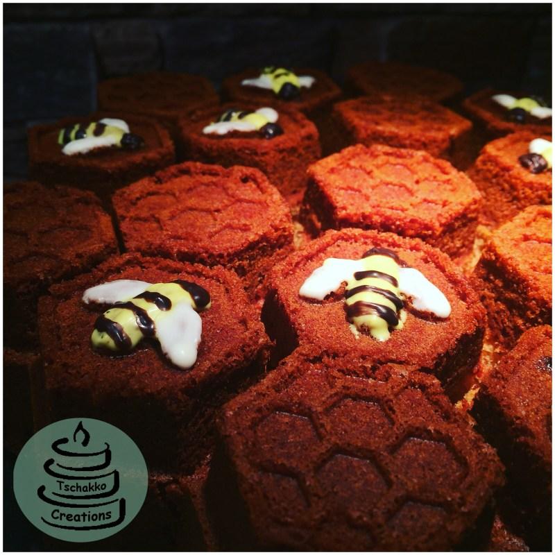 Honigkuchen Dekobienen