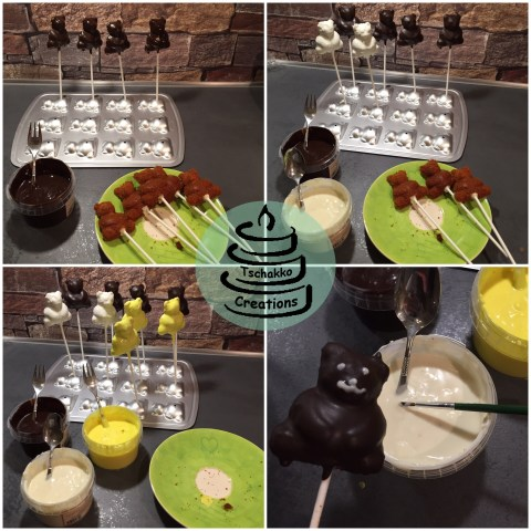 Honig-Bären-Cake-Pops Making-of 4