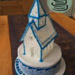Royal Icing Kirche zur Konfirmation