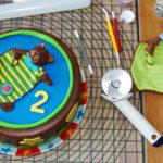 Yogurette-Torte zum Kindergeburtstag