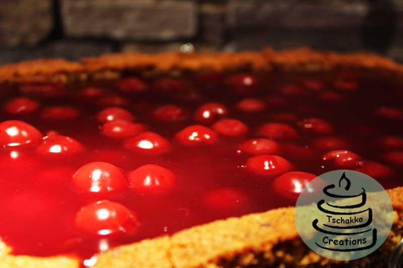 Fahrrad Torte Nusskuchen Mit Kirsch Tschakko Creations
