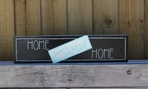 Sign, Home Sweet Home