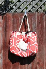 Beach Bag, Coral1