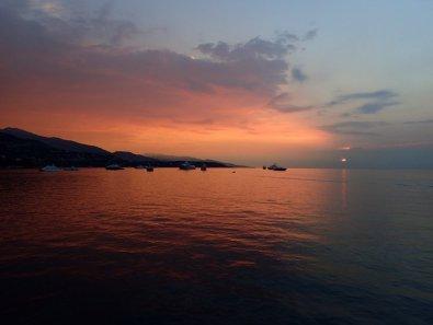 Sonnenaufgang in Monaco