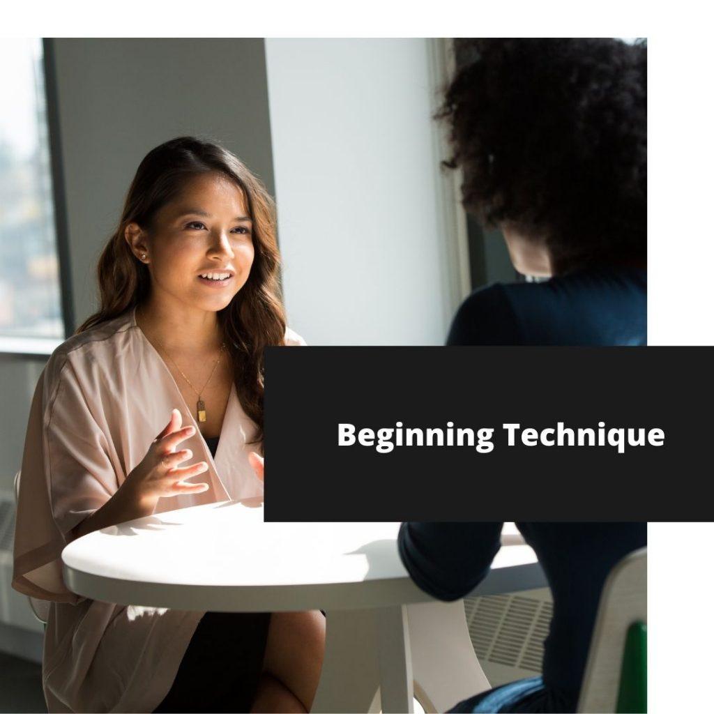 BEGINNING ACTING TECHNIQUE
