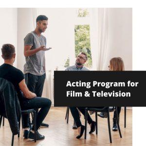Acting on Camera Program