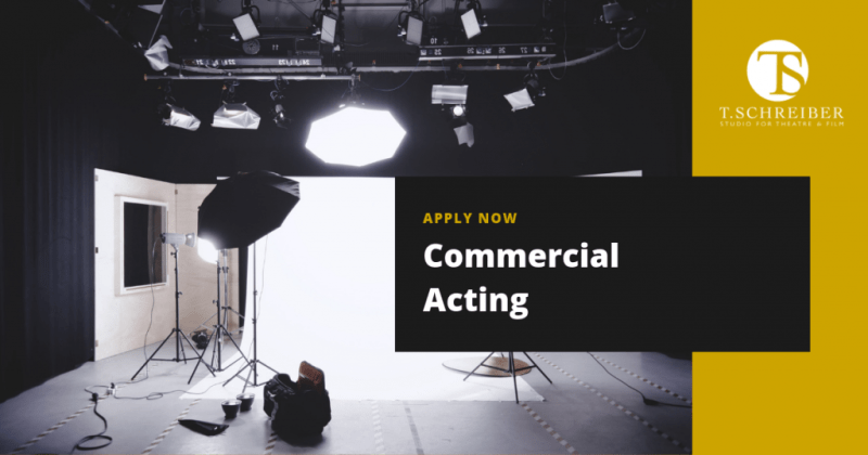 Commercial Acting in NYC at T. Schreiber Studio Learn how to act in commercials