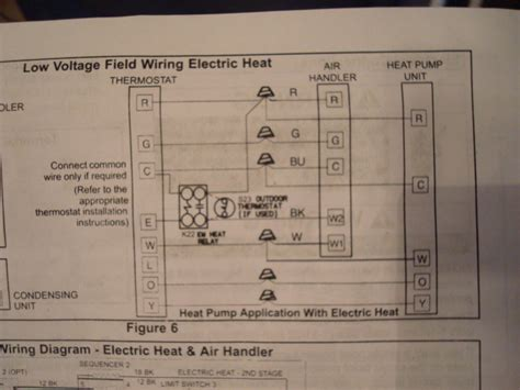 diagram lenox thermostat wiring setup heat pump lenox
