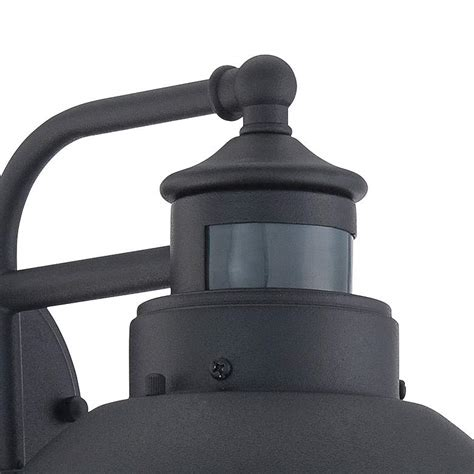 oberlin 9 black dusk dawn motion sensor outdoor