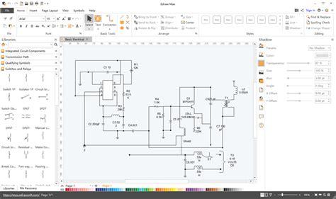 schematics maker create schematic diagrams easily