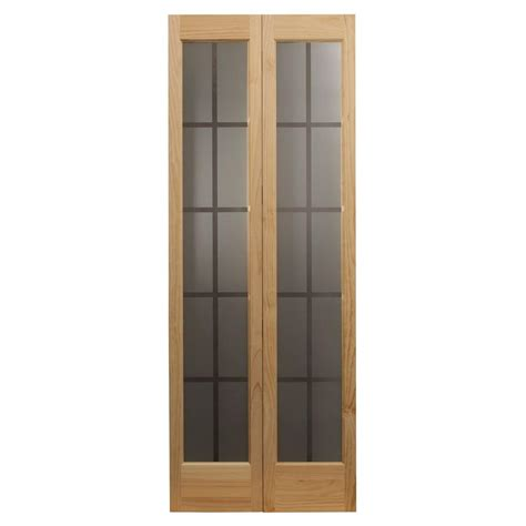 pinecroft 30 80 colonial glass universal reversible wood